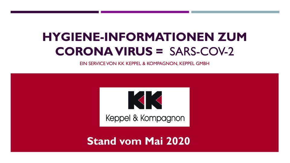 Hygiene-Informationen der Keppel GmbH